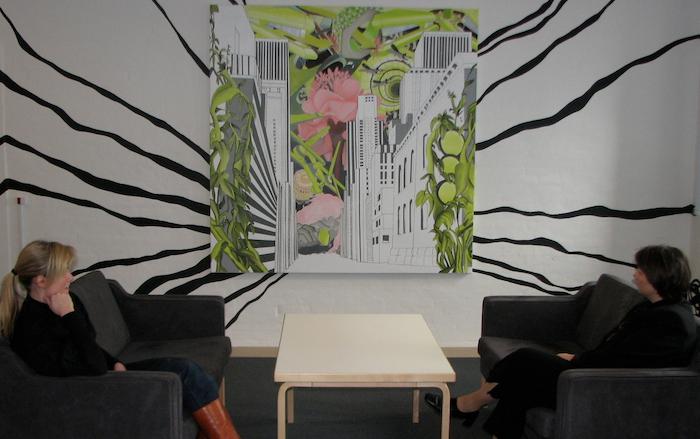 Trine Boesens værk til receptionen, Eksport Kredit Fonden