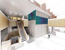 MERCANTEC | Integreret kunst i nyt erhvervsgymnasium i Viborg