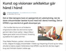 BUILDING-SUPPLY.DK 2011 | Kunst og visionær arkitektur går hånd i hånd